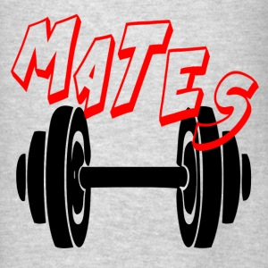 MATES - FUNNY GYM COUPLE Hoodies - Men's T-Shirt