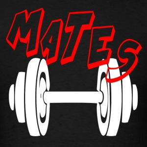 MATES - FUNNY GYM COUPLE Sportswear - Men's T-Shirt
