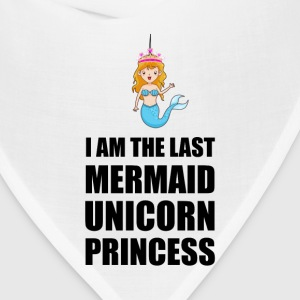 Last Mermaid Unicorn Princess - Bandana