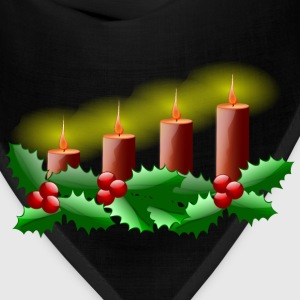 Lit Advent Candles - Bandana