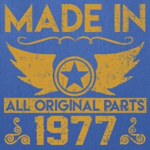made in 1977 333.png T-Shirts - Tote Bag