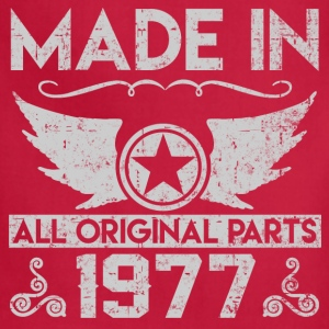 made in 1977 22.png T-Shirts - Adjustable Apron