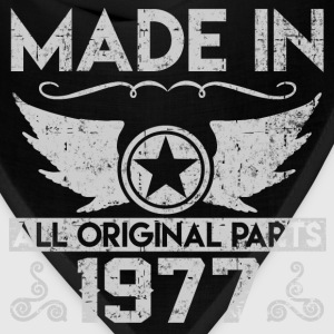 made in 1977 22.png T-Shirts - Bandana