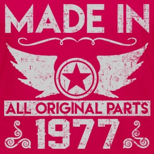 made in 1977 22.png T-Shirts - Women's Premium Long Sleeve T-Shirt