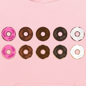 Assorted Plain Frosted Donuts - Kids' Hoodie