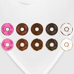 Assorted Plain Frosted Donuts - Bandana