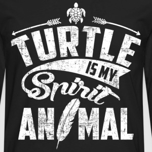 Turtle My Spirit Animal T-Shirts - Men's Premium Long Sleeve T-Shirt