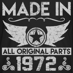 made in 1972 22.png T-Shirts - Men's Premium Long Sleeve T-Shirt