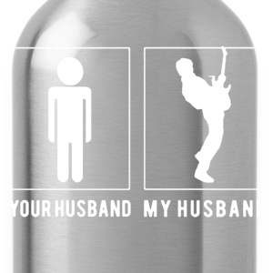 GUITARIST MY HUSBAND SHIRT - Water Bottle