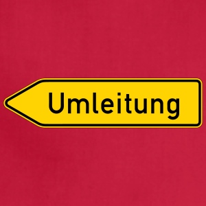Umleitung - German Traffic Sign - Adjustable Apron