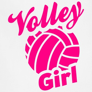 volley girl T-Shirts - Adjustable Apron