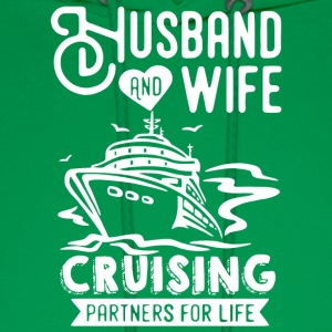 Husband And Wife Cruising Partners For Life Shirt - Men's Hoodie