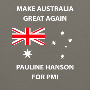 Pauline Hanson for PM - Men's Premium Tank