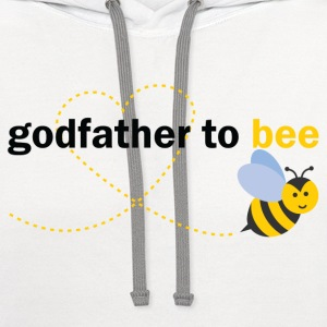 Godfather To Bee T-Shirts - Contrast Hoodie