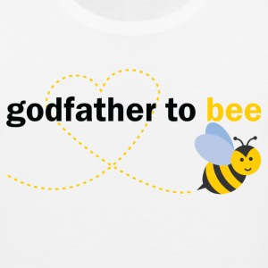 Godfather To Bee T-Shirts - Men's Premium Tank