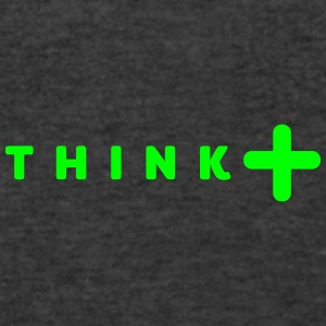 think positive Sportswear - Men's V-Neck T-Shirt by Canvas
