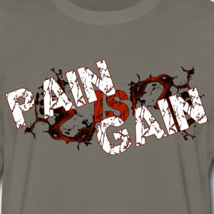 Pain is Gain - Men's Premium Long Sleeve T-Shirt