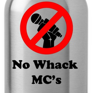 No Whack MC's - Water Bottle