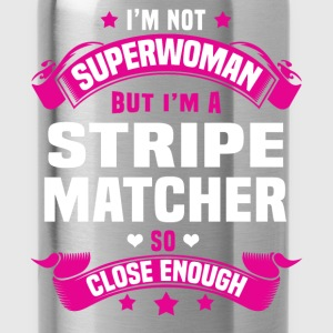 Stripe Matcher T-Shirts - Water Bottle