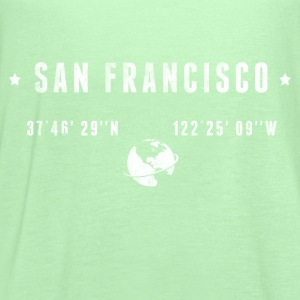 San Francisco T-Shirts - Women's Flowy Tank Top by Bella