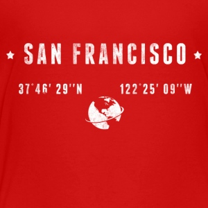 San Francisco Kids' Shirts - Toddler Premium T-Shirt