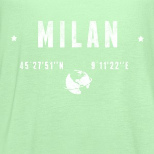 Milan T-Shirts - Women's Flowy Tank Top by Bella