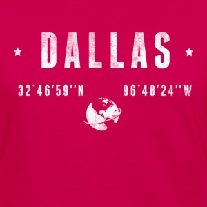 DALLAS T-Shirts - Women's Premium Long Sleeve T-Shirt