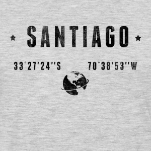 SANTIAGO T-Shirts - Men's Premium Long Sleeve T-Shirt