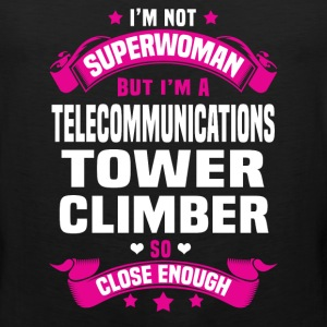 Telecommunications Tower Climber T-Shirts - Men's Premium Tank