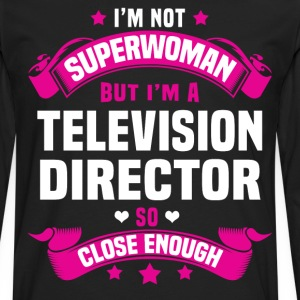 Television Director T-Shirts - Men's Premium Long Sleeve T-Shirt