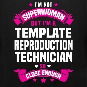 Template Reproduction Technician T-Shirts - Men's Premium Tank