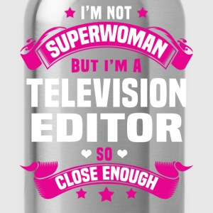 Television Editor T-Shirts - Water Bottle