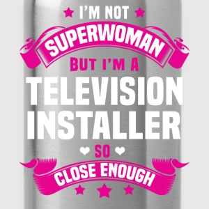 Television Installer T-Shirts - Water Bottle