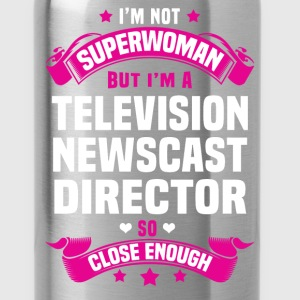 Television Newscast Director T-Shirts - Water Bottle