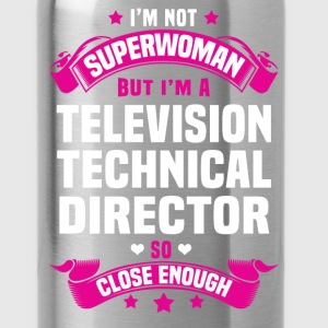 Television Technical Director T-Shirts - Water Bottle