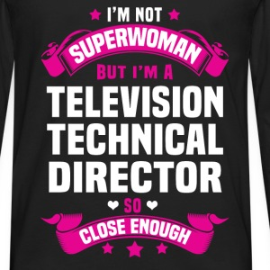 Television Technical Director T-Shirts - Men's Premium Long Sleeve T-Shirt