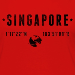 Singapore T-Shirts - Women's Premium Long Sleeve T-Shirt