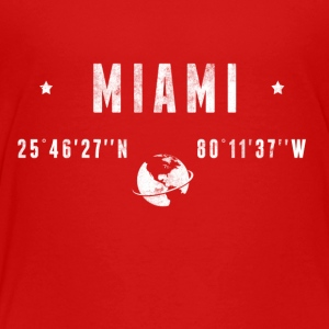 MIAMI Kids' Shirts - Toddler Premium T-Shirt