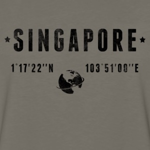 Singapore Kids' Shirts - Men's Premium Long Sleeve T-Shirt