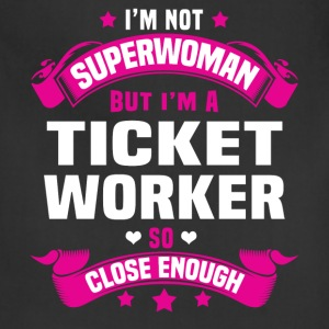 Ticket Worker T-Shirts - Adjustable Apron