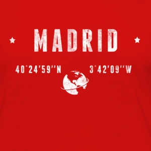 MADRID T-Shirts - Women's Premium Long Sleeve T-Shirt