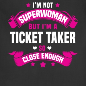 Ticket Taker T-Shirts - Adjustable Apron