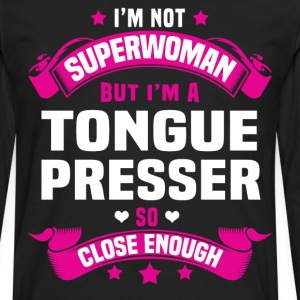 Tongue Presser T-Shirts - Men's Premium Long Sleeve T-Shirt