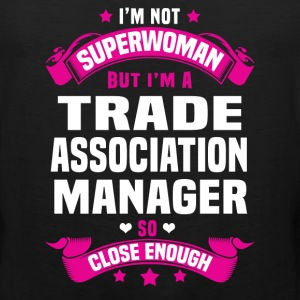 Trade Association Manager T-Shirts - Men's Premium Tank