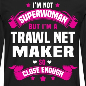 Trawl Net Maker T-Shirts - Men's Premium Long Sleeve T-Shirt