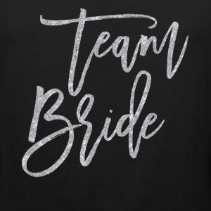 Team Bride Silver Glitter Effect - Men's Premium Tank