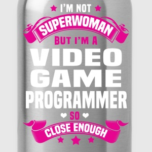 Video Game Programmer T-Shirts - Water Bottle