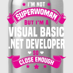Visual Basic .NET Developer T-Shirts - Water Bottle