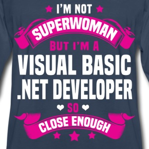 Visual Basic .NET Developer T-Shirts - Men's Premium Long Sleeve T-Shirt