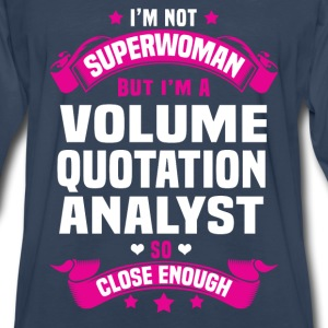 Volume Quotation Analyst T-Shirts - Men's Premium Long Sleeve T-Shirt